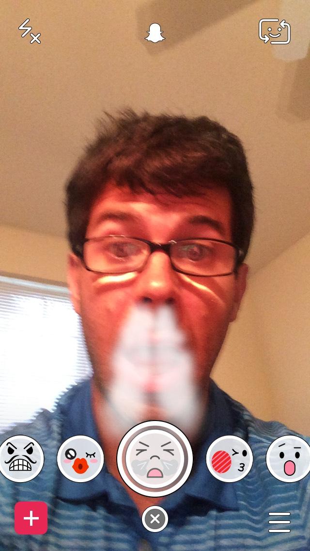snapchat-snorting-bull-selfie-filter