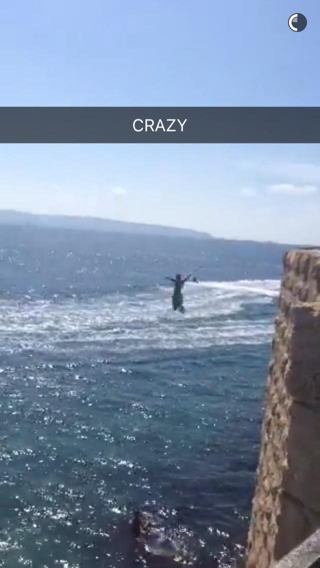 cliff-jump-snapchat-story