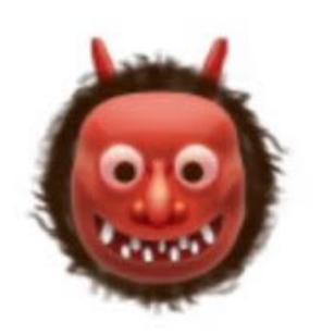 devil-face-snapchat-trophy
