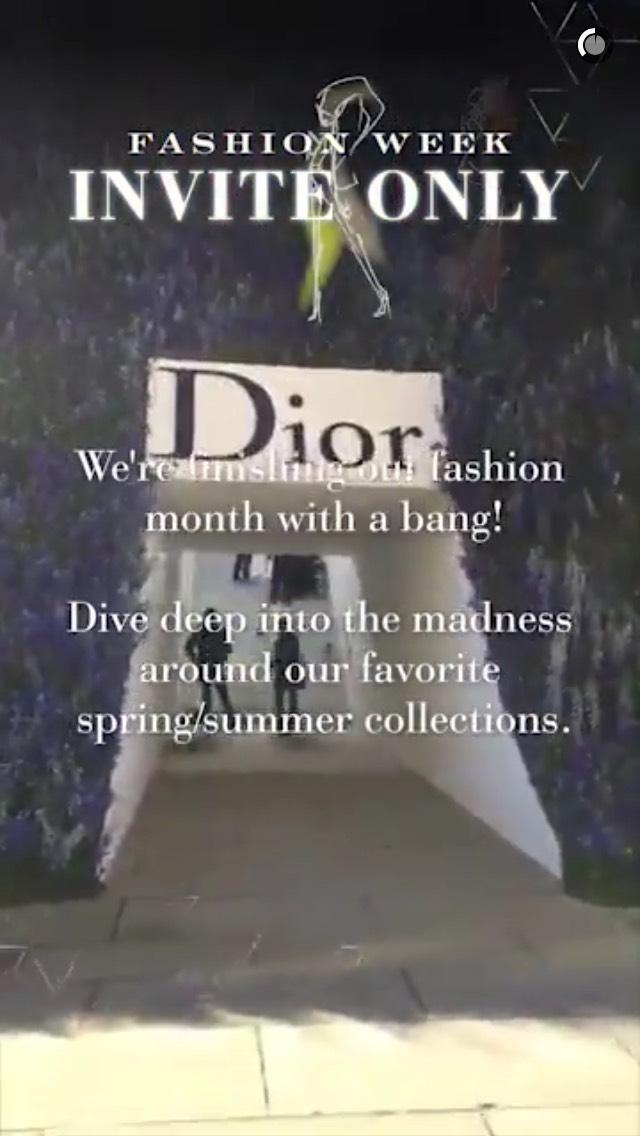 dior-snapchat-story