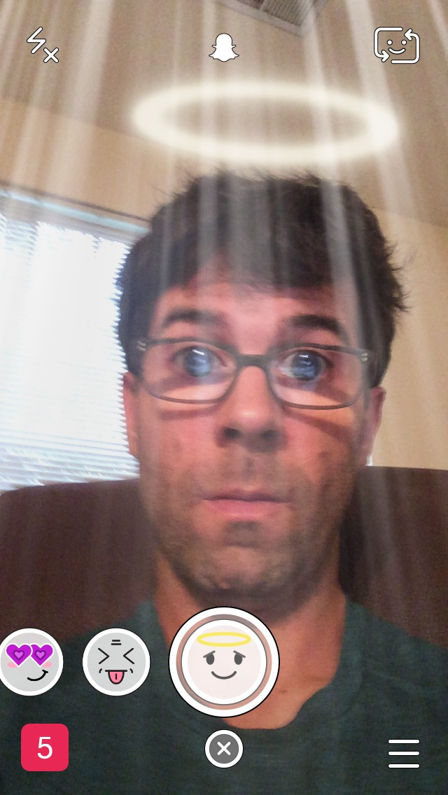 snapchat-angel-halo-selfie-filter