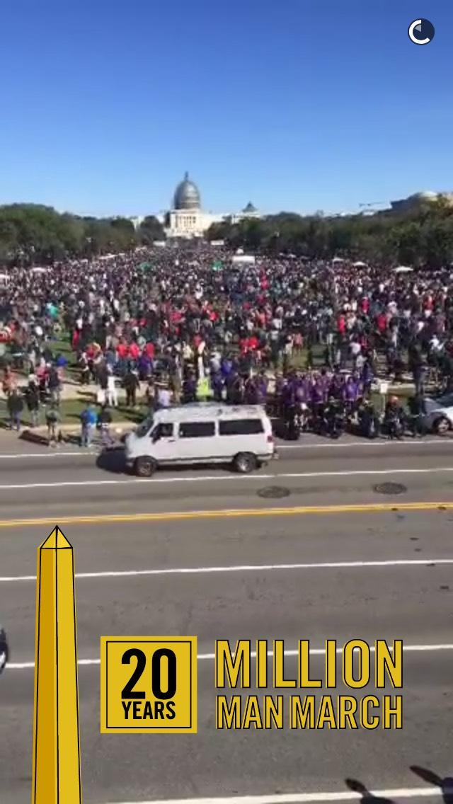 snapchat-dc-million-man-march