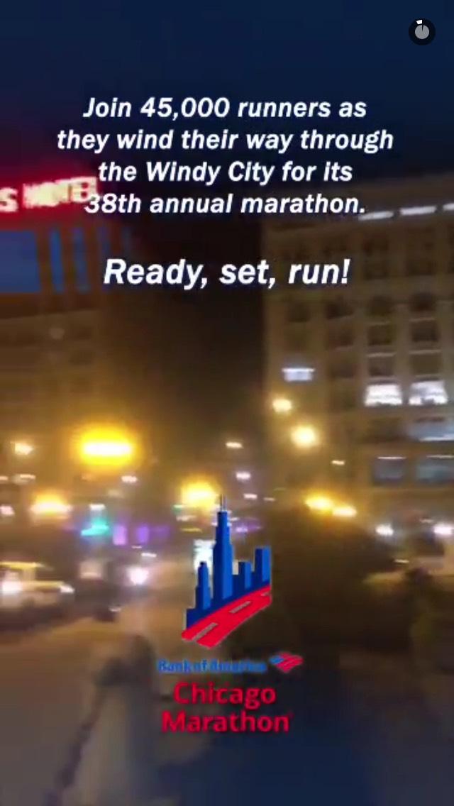 chicago-marathon-snapchat-story