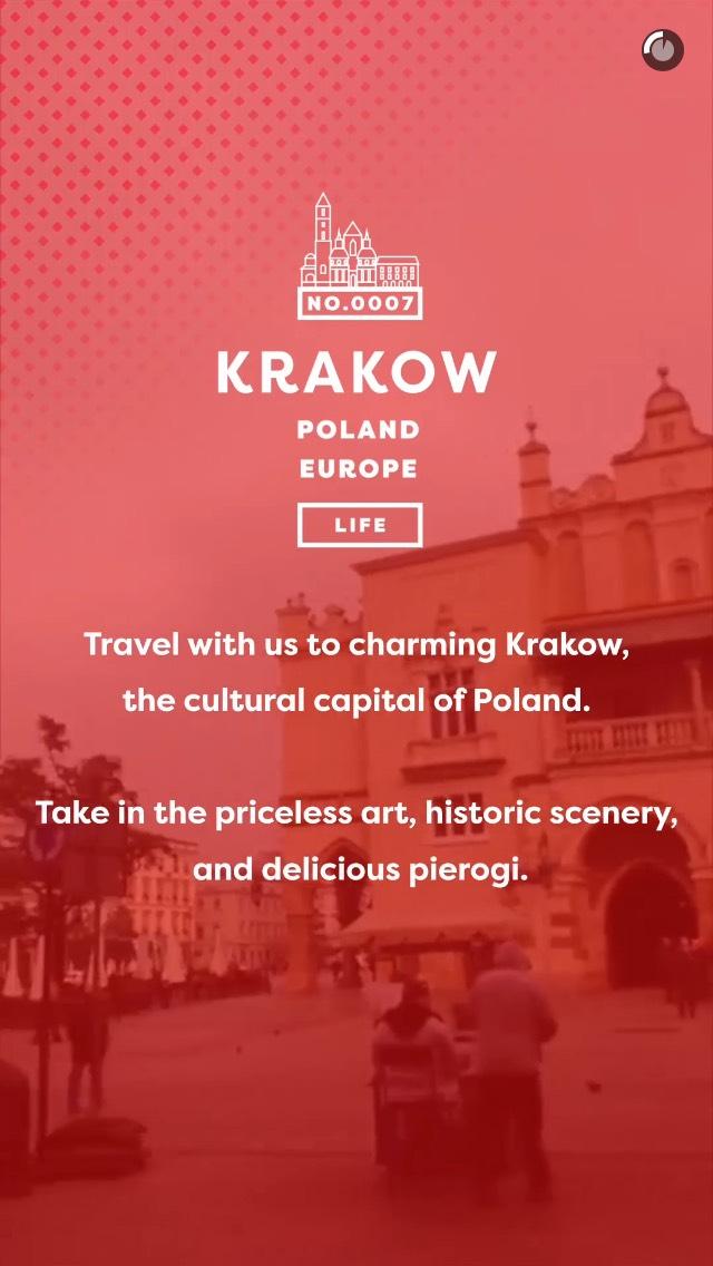 krakow-snapchat-story