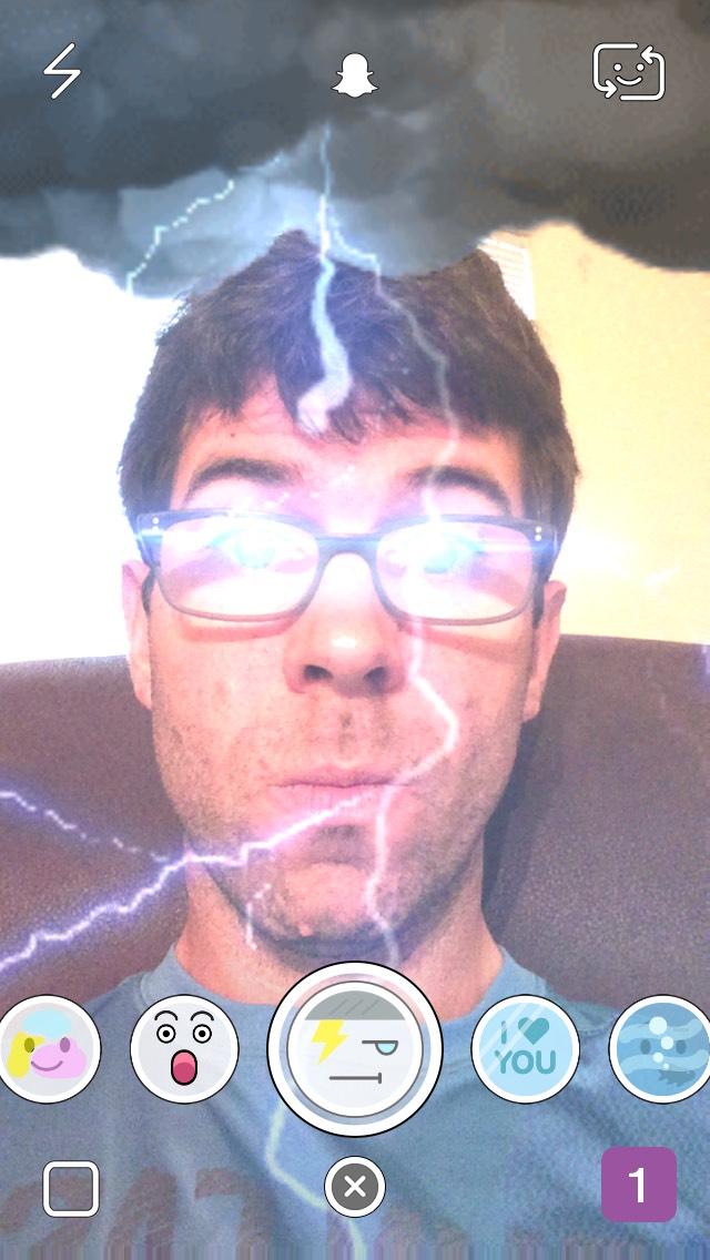 snapchat-lightning-storm-selfie-filter