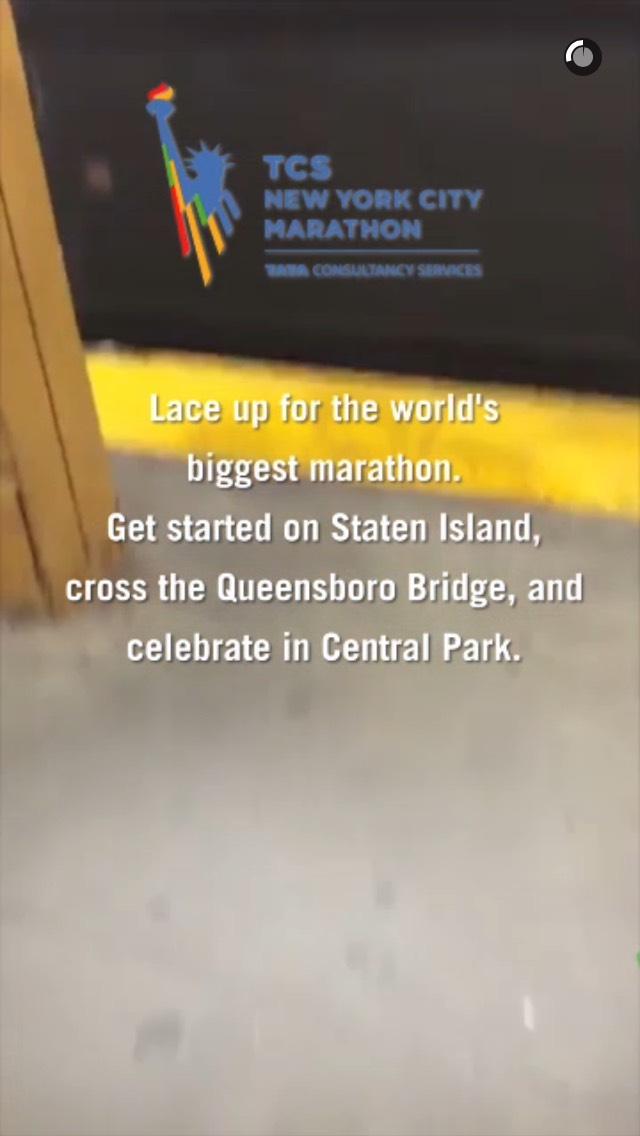 nyc-marathon-snapchat-story