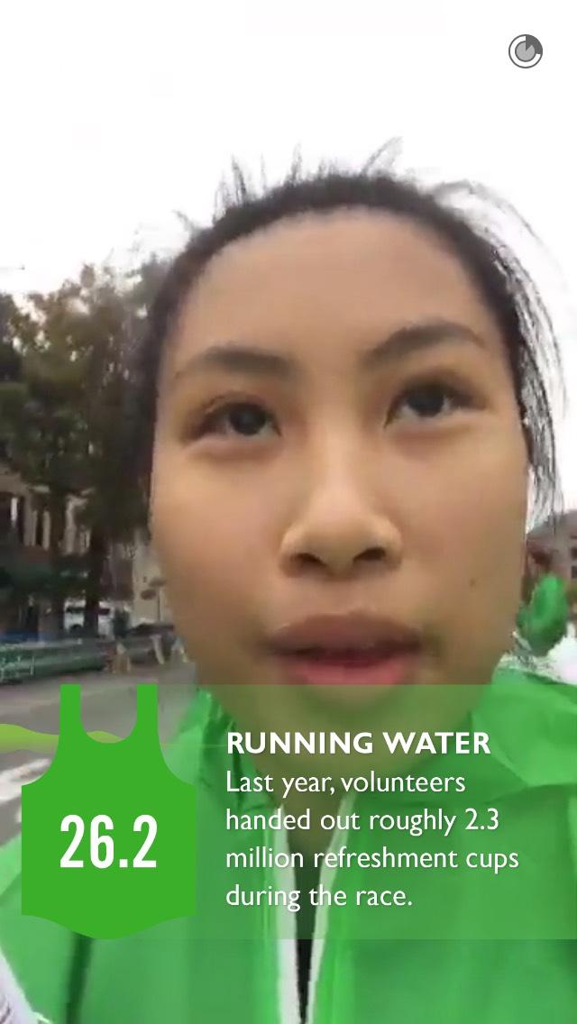 water-nyc-marathon-snapchat
