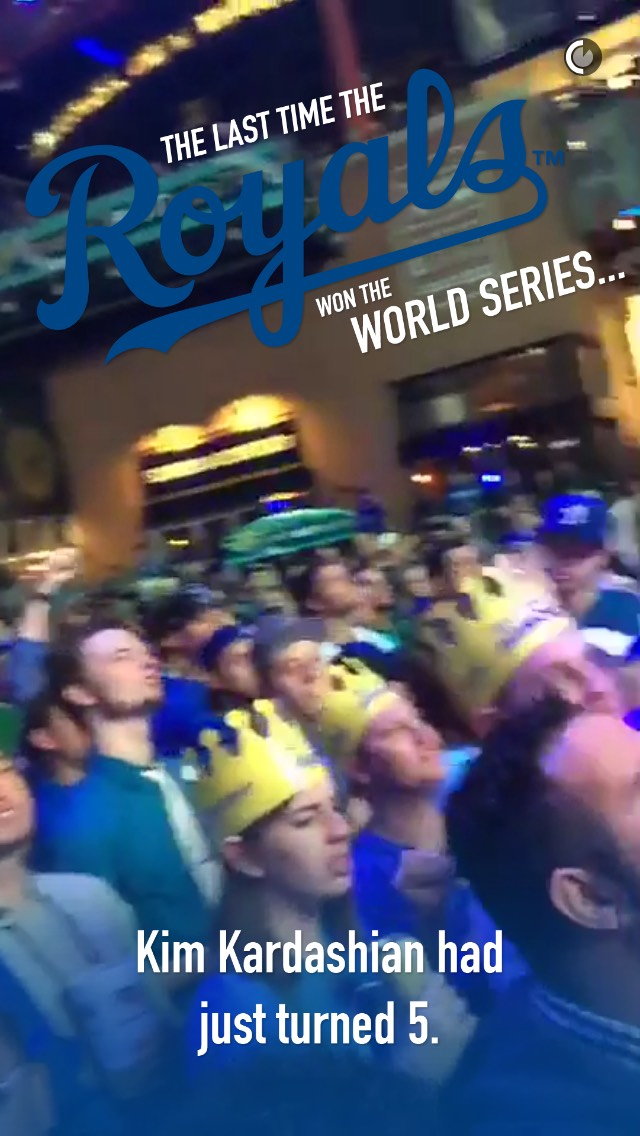 snapchat-kim-k-royals-world-series