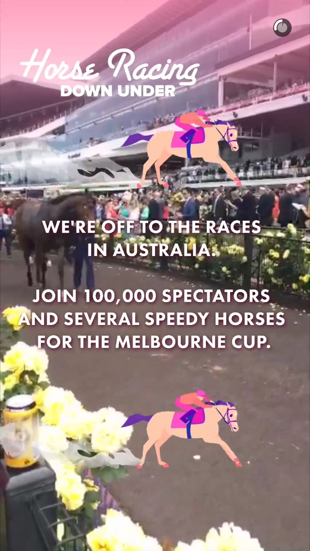 australia-horse-racing-snapchat