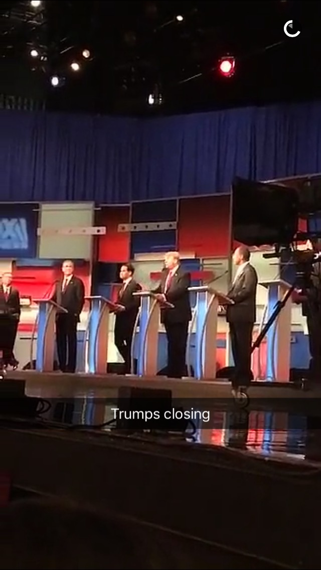 trump-milwaukee-debate-snapchat