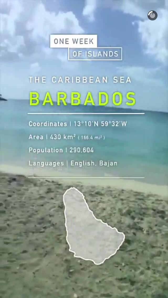 barbados-snapchat-story