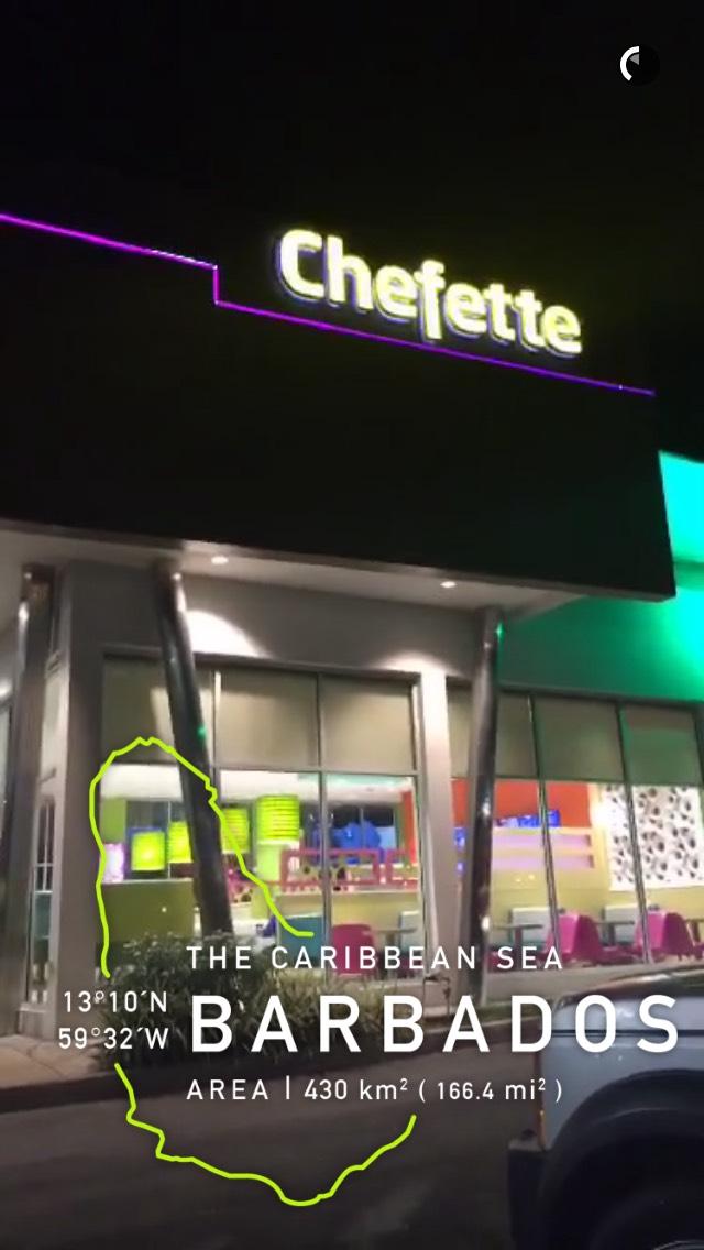 chefette-barbados-snapchat-story