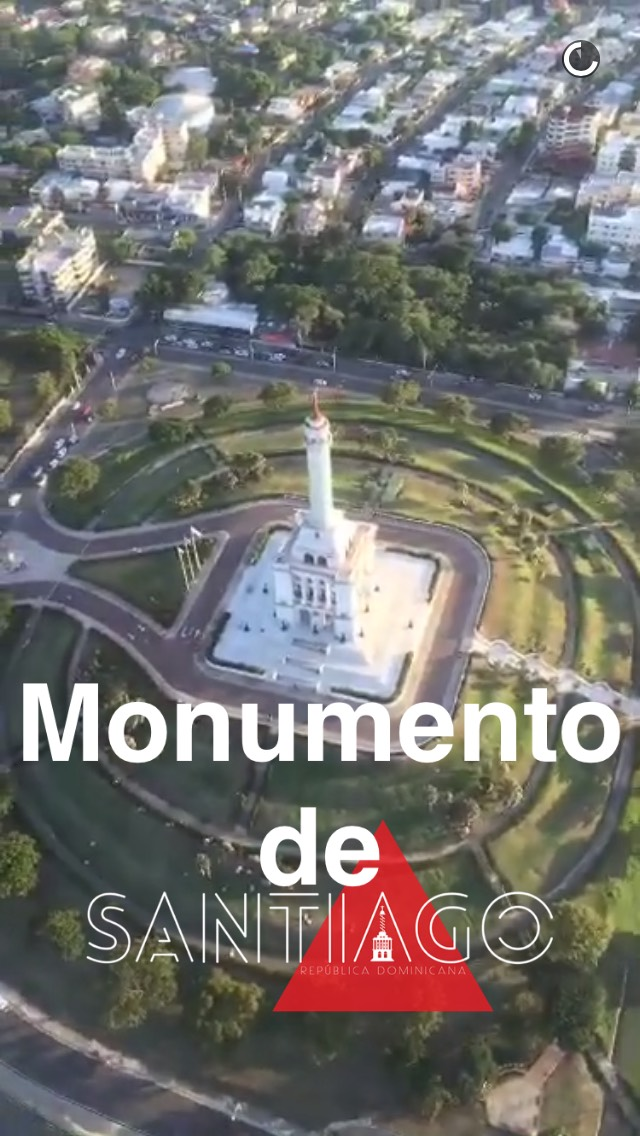 domnican-republic-monument-snapchat