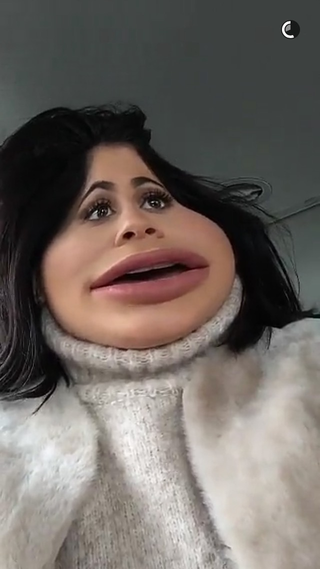 How to do the snapchat filter kylie jenner used wojdylo social media