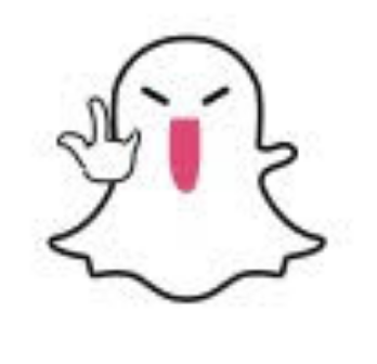 snapchat-white-ghost-middle-finger