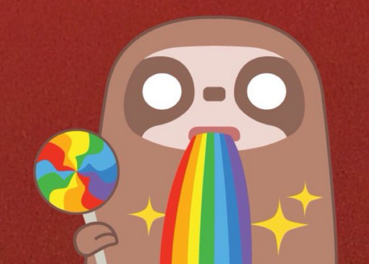 snapchat-animal-puking-rainbows-lollipop