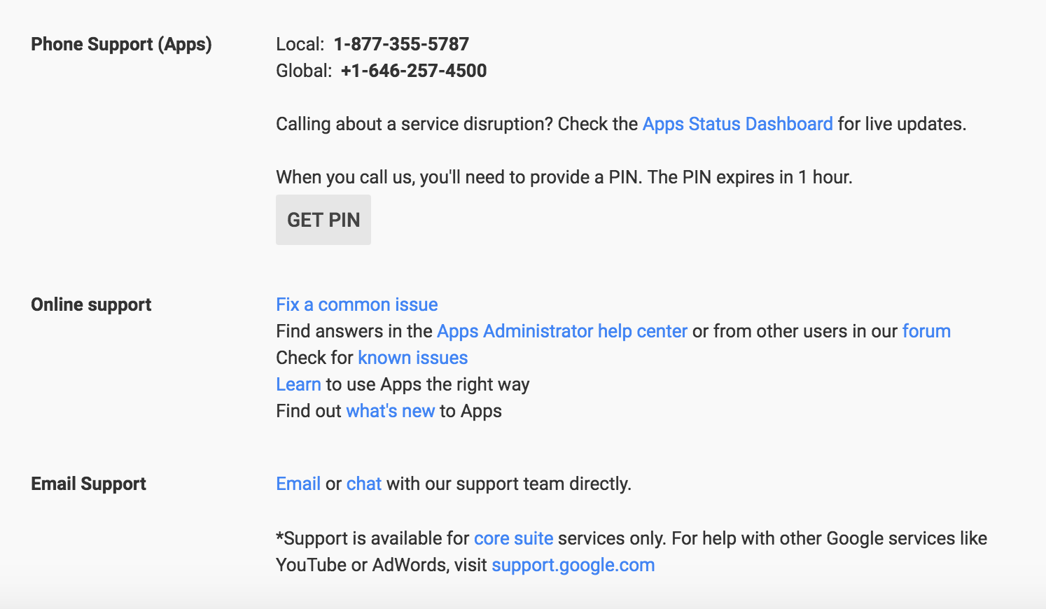 google-pin-to-call
