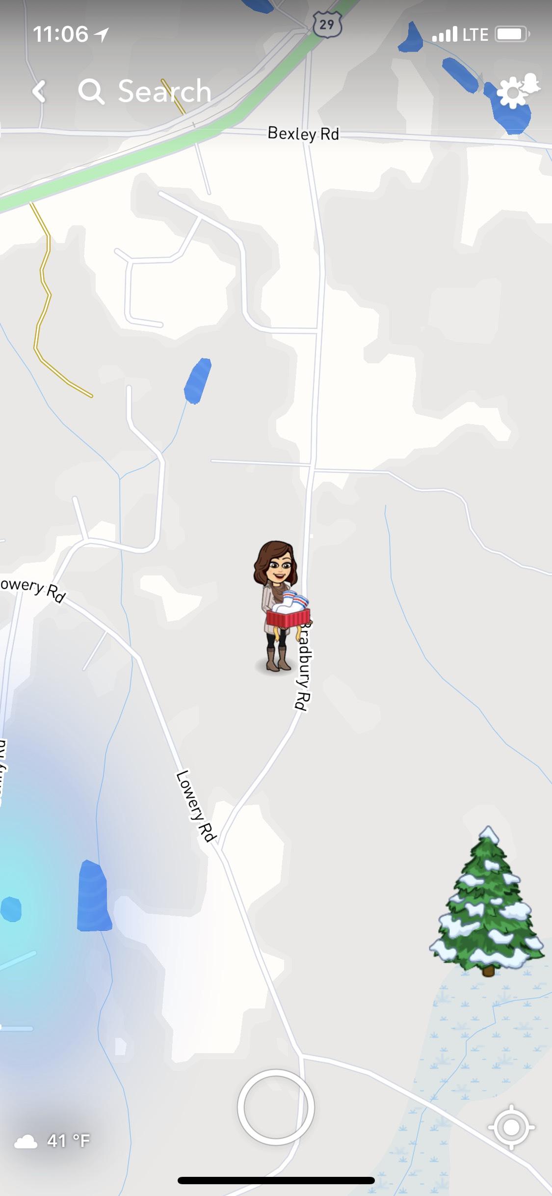 how to use snapchat map bitmoji