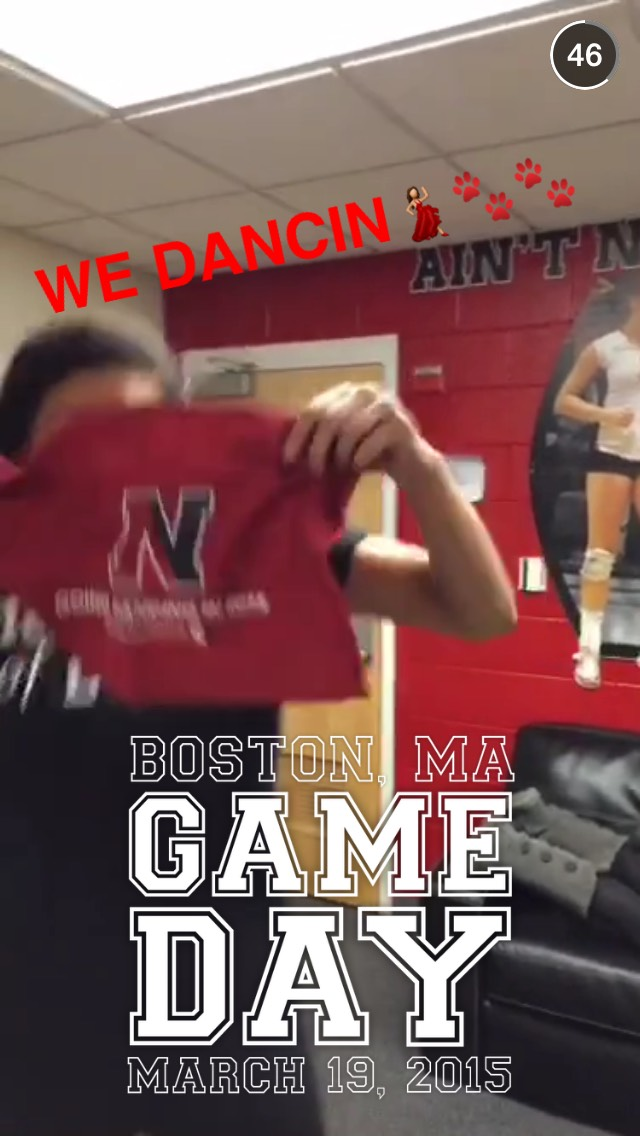 northeastern-march-madness-snapchat