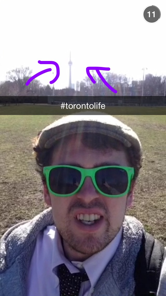 cn-tower-selfie-toronto-snapchat-story