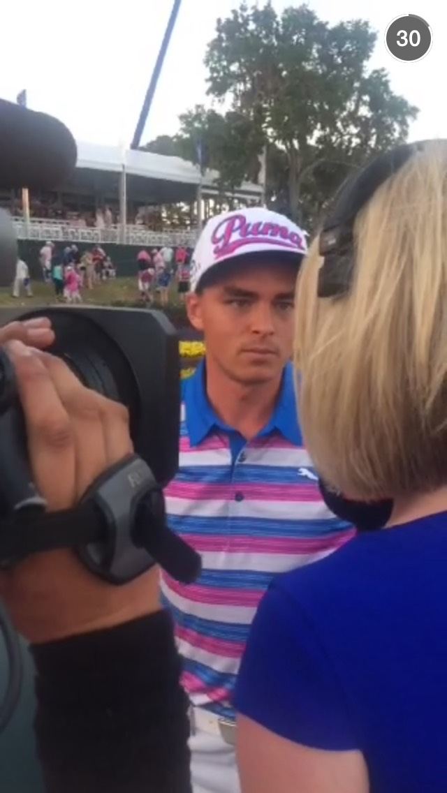 rickie-fowler-interview-snapchat