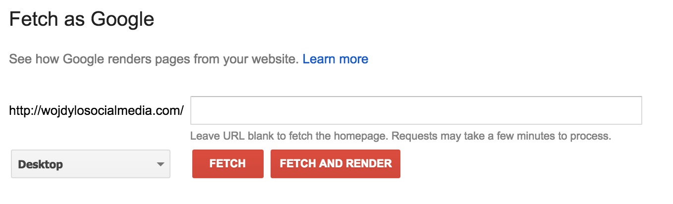 fetch-and-render-google-search-console