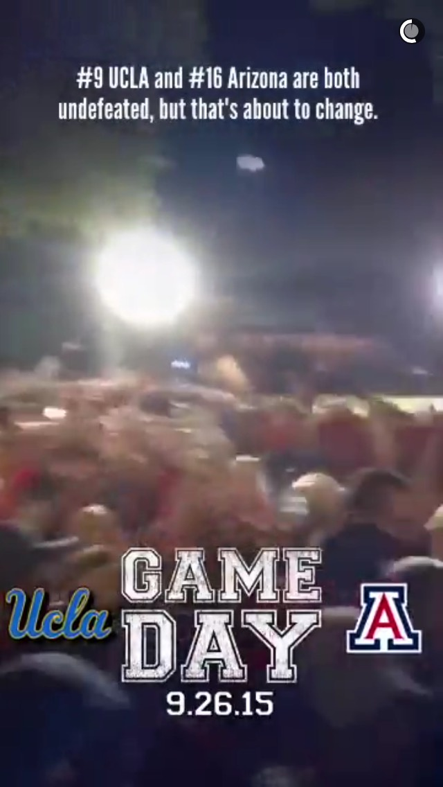 arizona-vs-ucla-snapchat-story