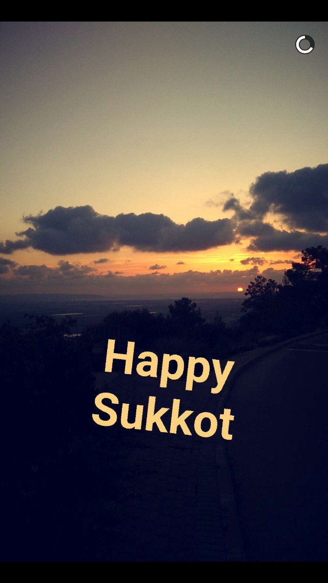 sunset-sukkot-snapchat
