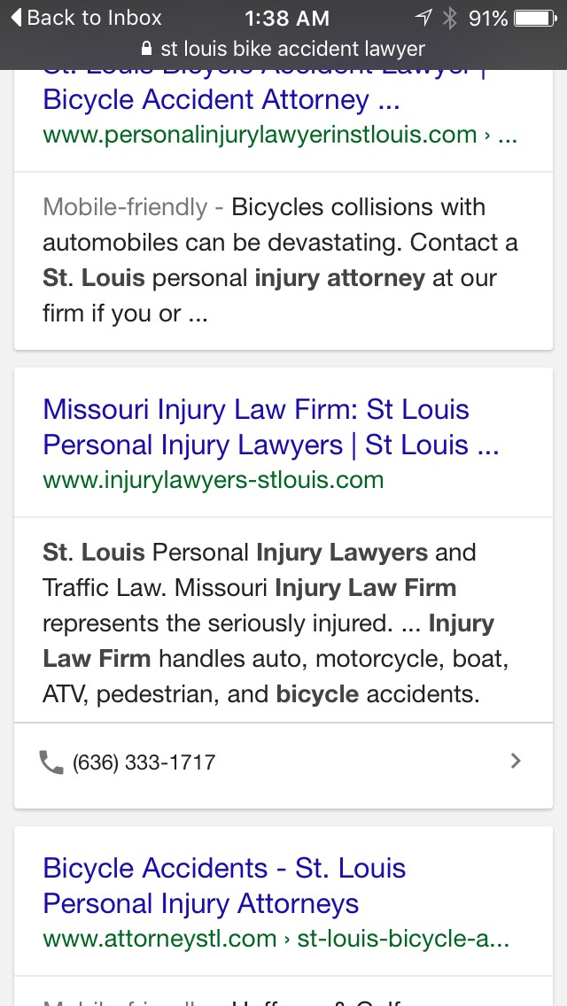 Phone Number to Call Displayed in Google Mobile Search