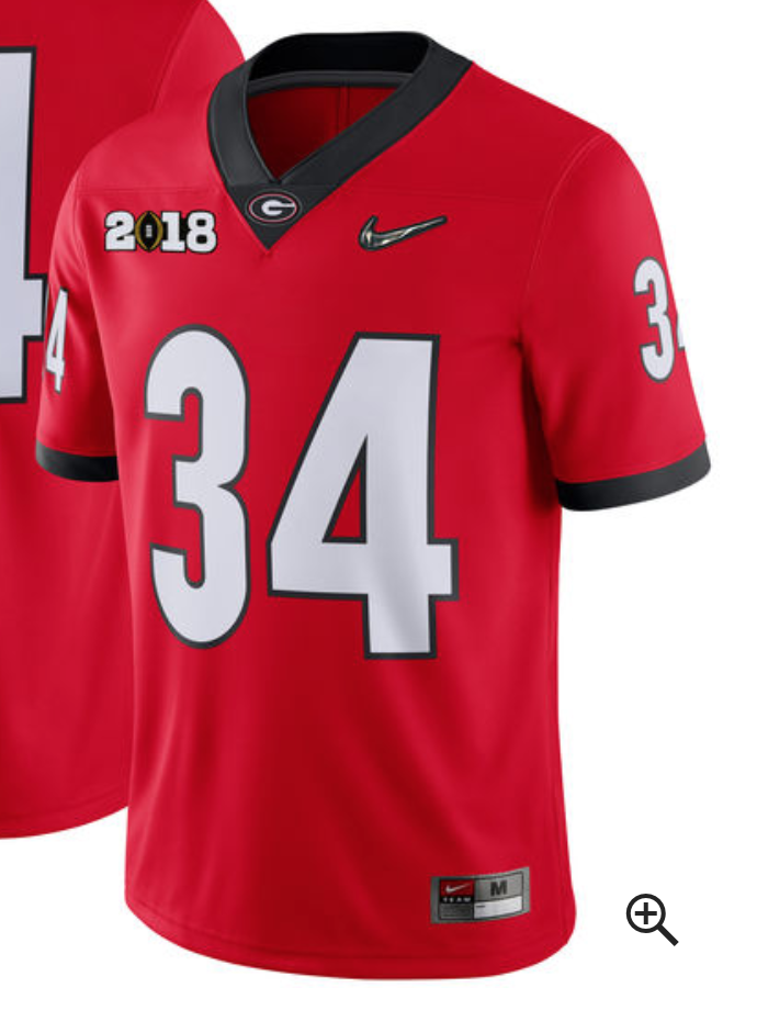 new product e2df1 83dcd Why Do Alabama and Georgia have 2-18 on Their Jerseys in the ...