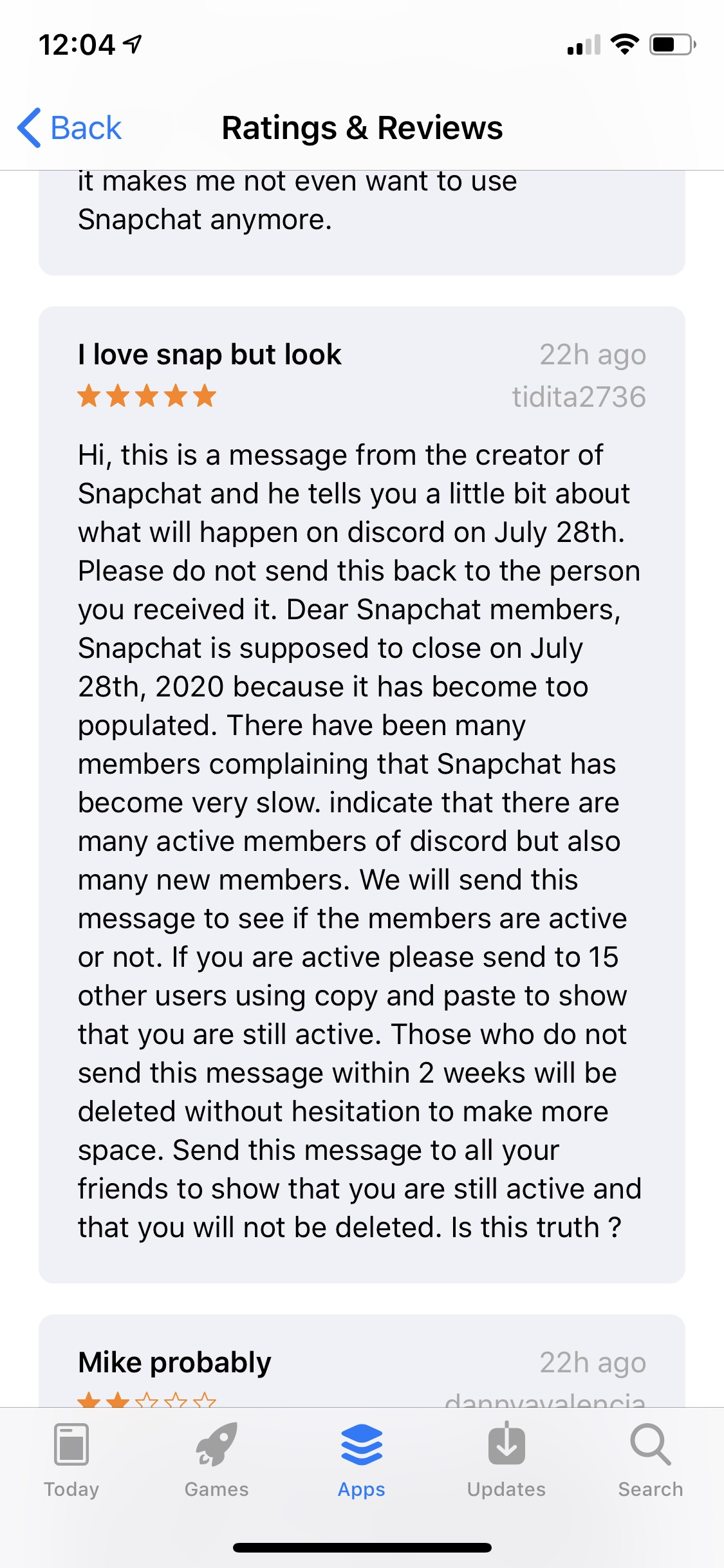 Is Snapchat Deleting Accounts and Then Closing on July 28th