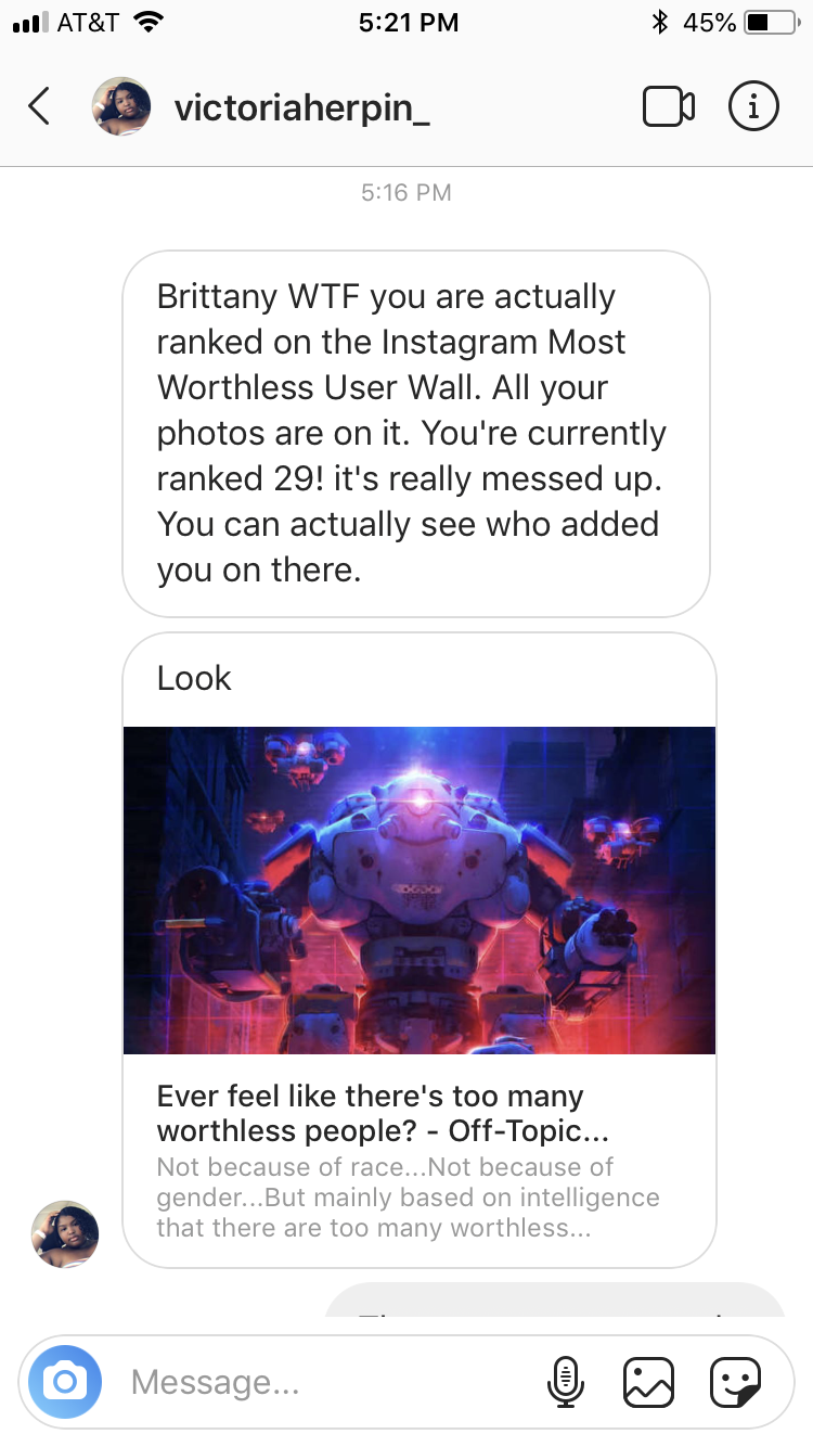 Instagram Most Worthless User Wall DM Hack - Real or Fake